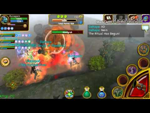 Arcane Legends | Playing Elondrian Event W/ 5th Boss Bloodgrub!