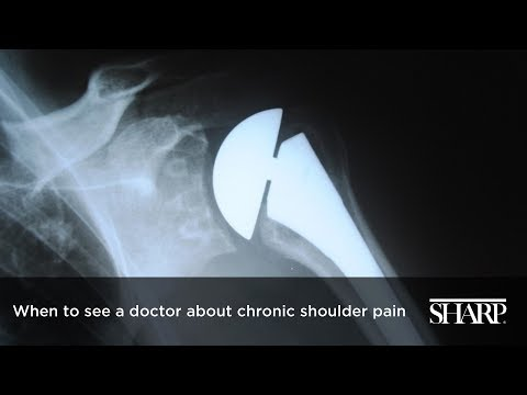 When to see a doctor about chronic shoulder pain