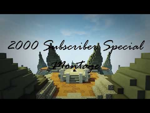 Hypixel Skywars | 2000 Subscriber Special Montage