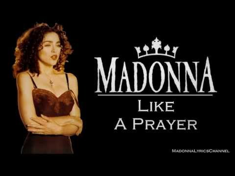 Madonna - Like A Prayer (Lyrics On Screen)