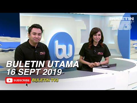 Buletin Utama (2019) | Isnin, 16 September