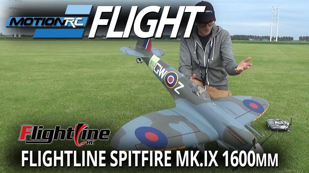 FlightLine Spitfire Mk IX 1600mm (63
