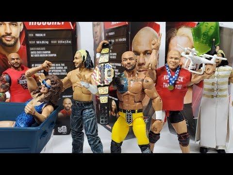 WWE ELITE NETWORK SPOTLIGHT FULL SET REVIEW