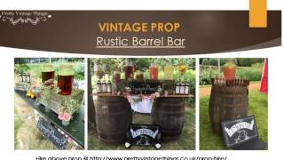 Vintage Porp Hire | Hire Catering Equipments | Pretty Vintage Things