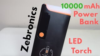 Zebronics 10000mAh Power Bank - Unboxing & Review!