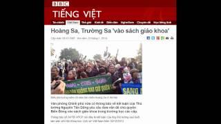 23.01.2014 - BBC Vietnamese - Hoàng Sa, Trường Sa 'vào sách giáo khoa'