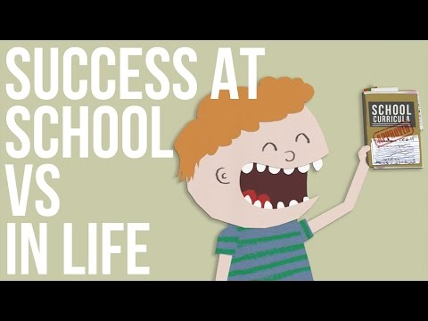 Success At School Vs Success In Life