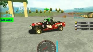 Car Racing Game Online And 4 Laps / 4 Cars Beat / And Riding 120 Speed