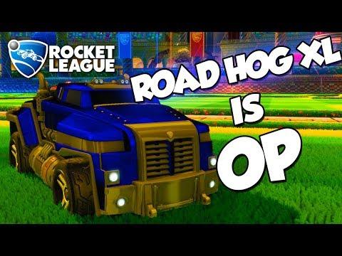 Road Hog XL is OP | Rocket League Montage thumbnail