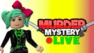 Roblox LIVE Murder Friday and Other PvP Games!