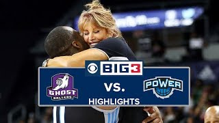 Season 3 Week 4 | Ghost Ballers vs. Power | Highlights