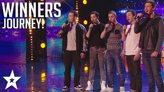 collabro britain 39 s got talent 2014 winners all performances