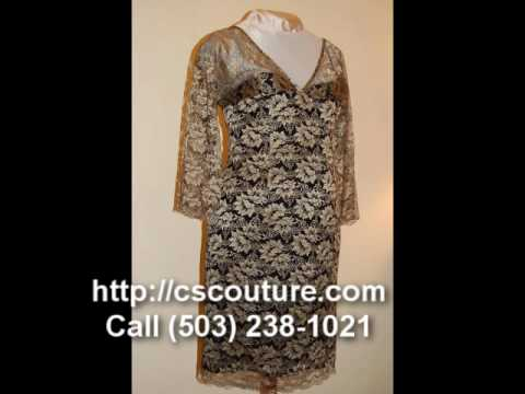 Custom Couture Evening Dresses Portland, Oregon