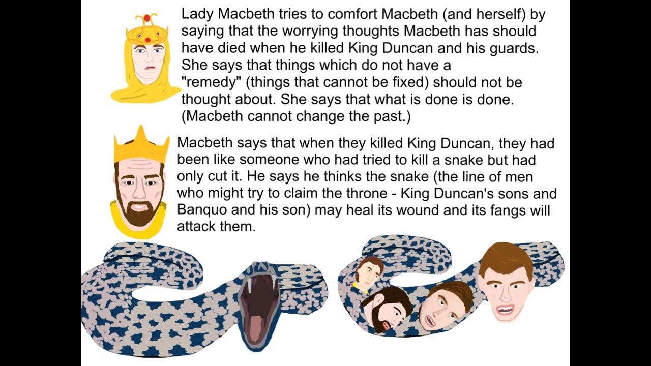 Macbeth - Act 3, Scene 2 Summary - YouTube