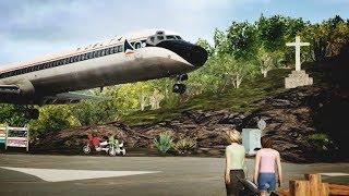 big airplanes small runway tffj xplane 11