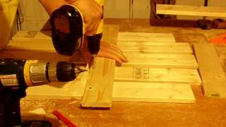 How To Build An Adirondack Chair Part 2.