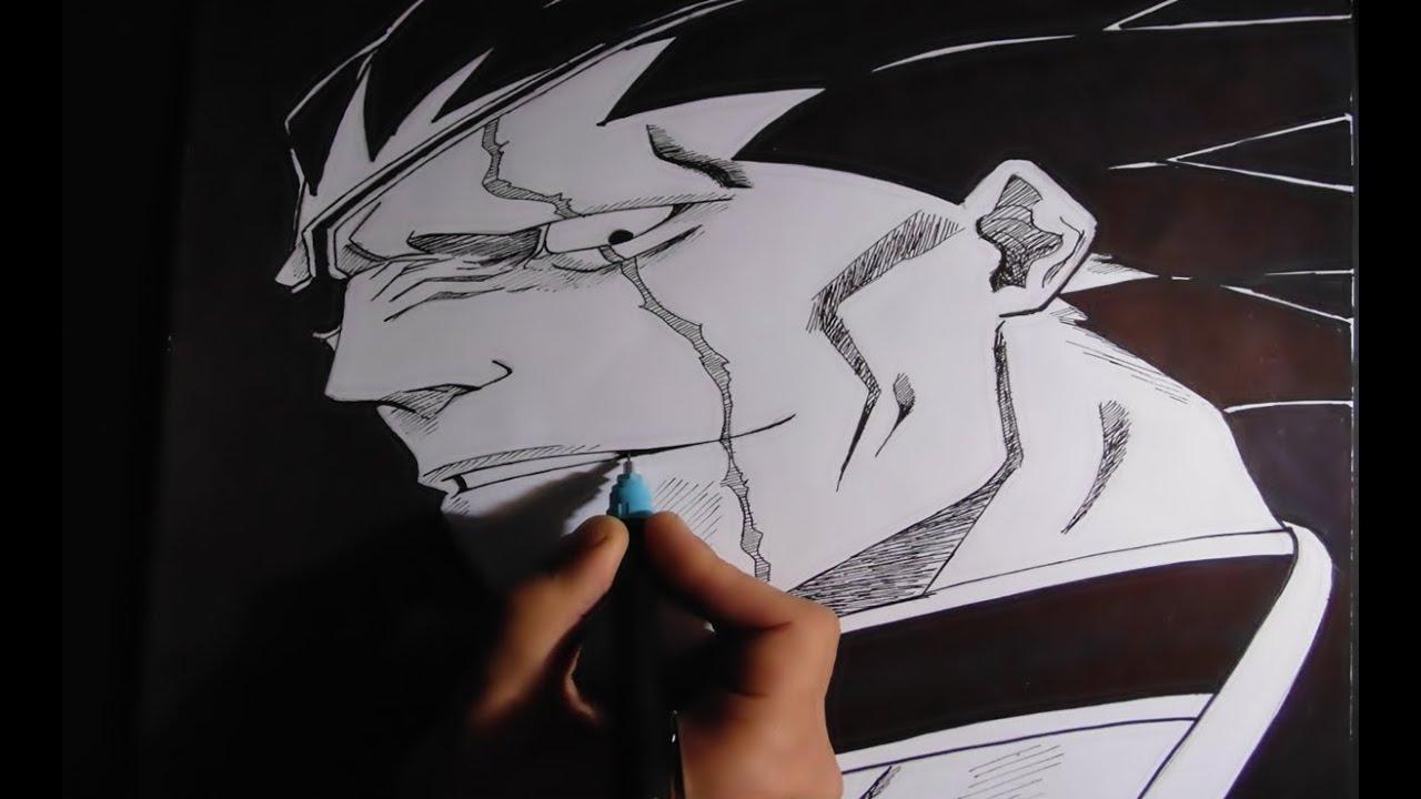 Drawing Kenpachi Zaraki BLEACH