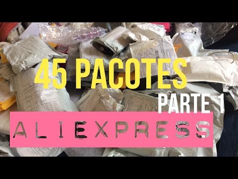 COMPRINHAS ALIEXPRESS: 45 PACOTES - PARTE 1 #17