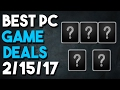 Top 5 PC Game Deals of the Week 2/15/17 - Final Fantasy Sale, Humble Bundle and More!