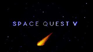 Space Quest V - Intro/Opening FR- (Roland MT-32) MS-DOS Game
