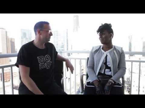 Empire's Ta'Rhonda Jones Interview - City of Michael