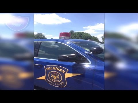 Michigan State Police Car Tour
