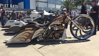 Daytona Beach Bike Week 2018 Bagger Competition / Motorcycle Show Sturgis