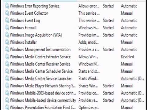 Windows Vista Update Error; help