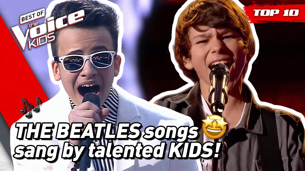 TOP 10 | Fantastic THE BEATLES SONGS covered in The Voice Kids! ?