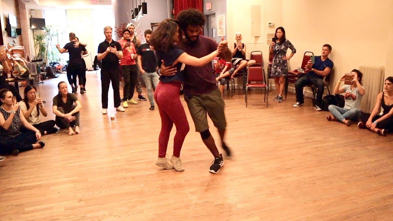 Forró New York Weekend 2019 | Bernard Bento Salles & Milena Morais (roots style dance demonstration)