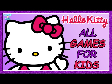 Hello Kitty All Games: Dress Up, Coloring, Music Games - Hello Kitty App For Kids