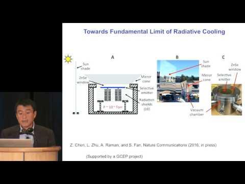 Shanhui Fan: Solar Thermophotovoltaics | GCEP Symposium – November 3, 2016