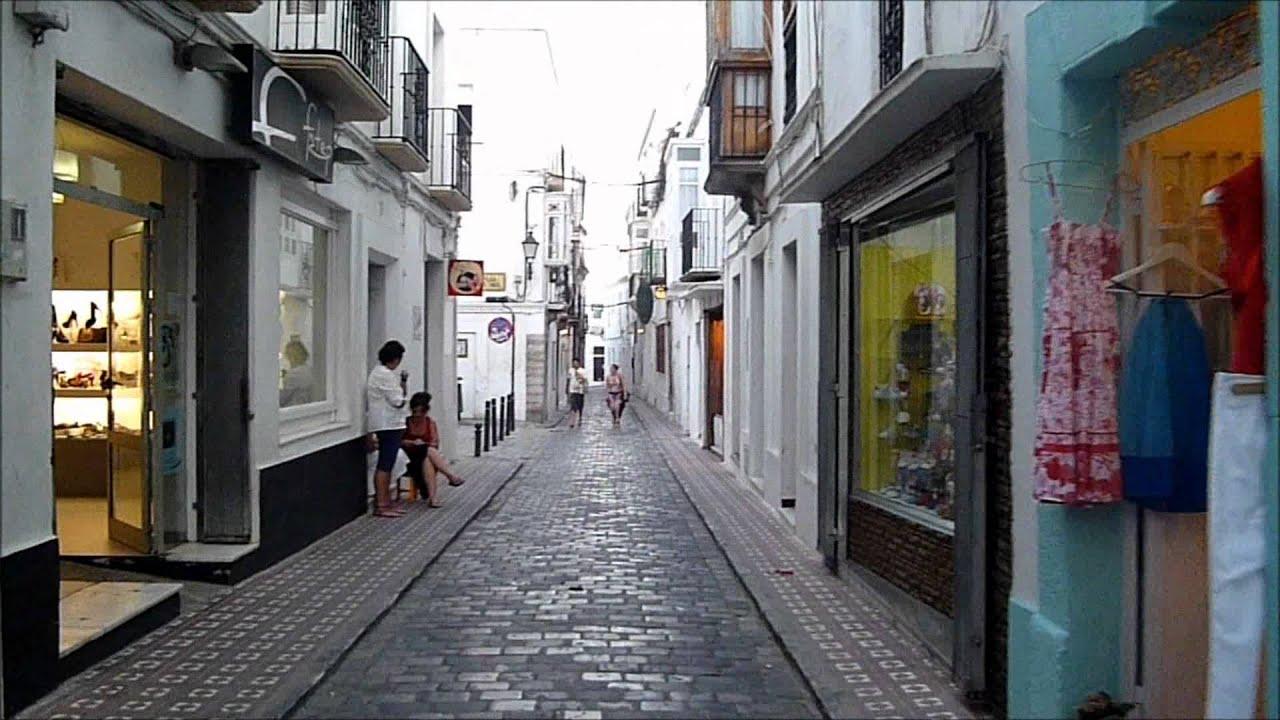 Paseo Corto Por El Centro Historico De Tarifa Cadiz Youtube
