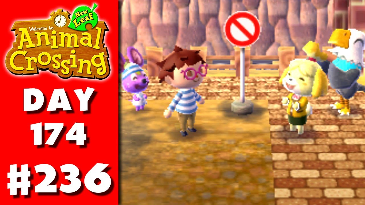 animal crossing new leaf part 236 do not enter sign