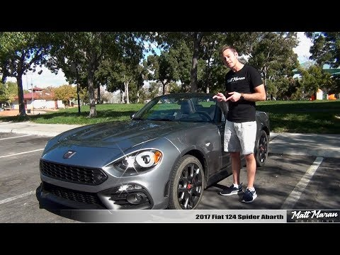 Review: 2017 Fiat 124 Spider Abarth (Manual)