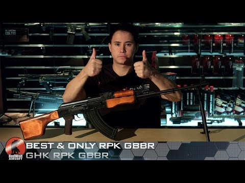 Best & Only RPK Gas Blowback from GHK– RedWolf Airsoft