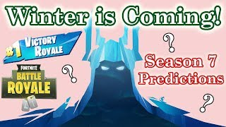 Fortnite Battle Royale Season 7 Predictions - Map Updates & Battle Pass Items (Solo) - Gameplay Comm