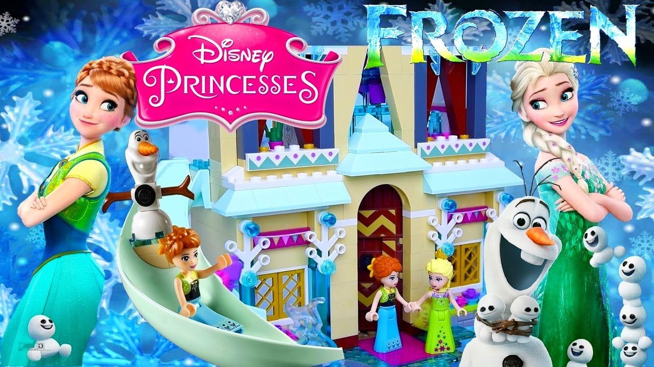 LEGO Frozen Fever Arendelle Castle Celebration Birthday of Disney ...