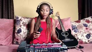 The lion sleeps tonight loop cover by Helen ibe //accapella