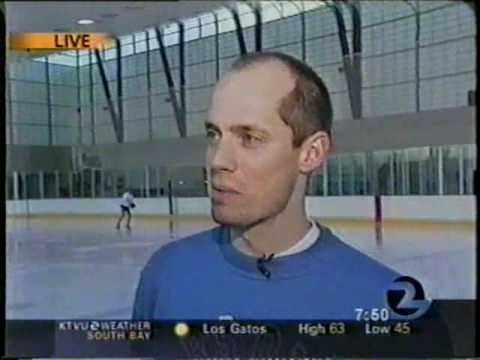Kurt Browning skates to