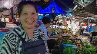Laos || Nongchan Market || Vientiane City