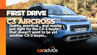 Citroen C3 Aircross review: Quirky, practical... just right?