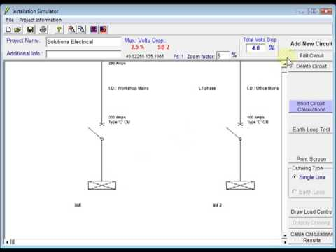 Electrical Installation Simulator Editing Circuits Youtube