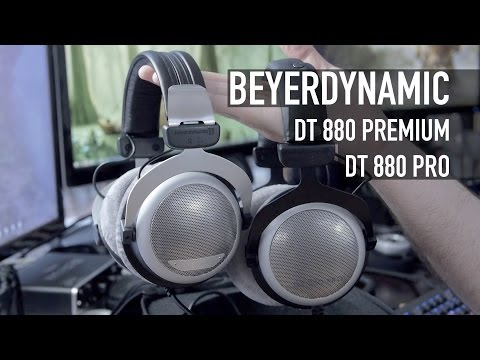 Beyerdynamic DT 880 Pro And DT 880 Premium Headphones Overview