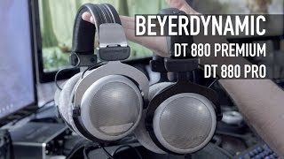 Beyerdynamic DT 880 Pro and DT 880 Premium Headphones Overview