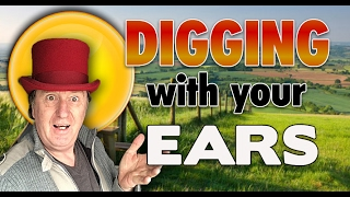 Metal Detecting with your ears. Listen don