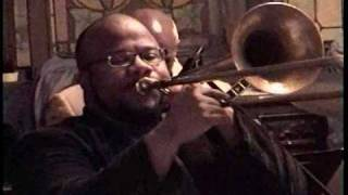 Early Jazz Swing trombone solo by Roland Barber