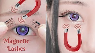 No Glue! No Mess! Testing Magnetic Lashes! How Do These Work?