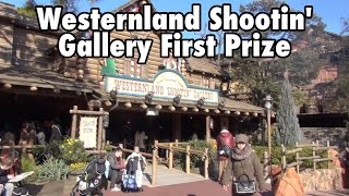Westernland Shootin' Gallery First Prize Tokyo Disneyland