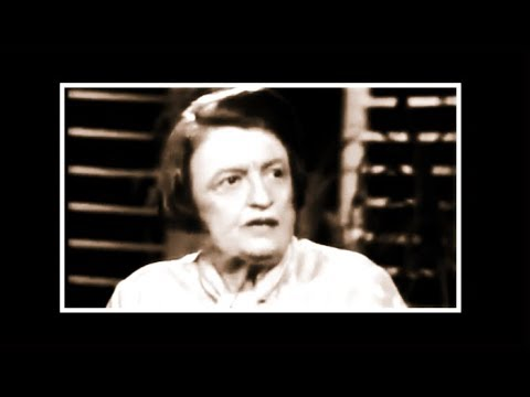 Ayn Rand - Phil Donahue Interview 1980